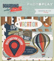 Photo Play Boarding Pass Ephemera