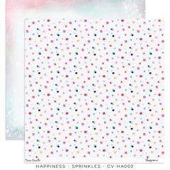 PRE ORDER Cocoa Vanilla Studio Happiness Sprinkles 12 x 12 Cardstock