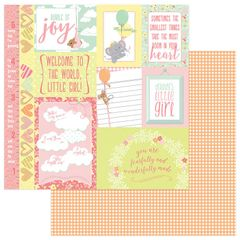 About a Little Girl 12 x 12 Double Sided Paper - Precious