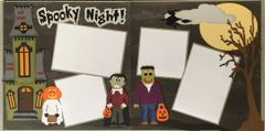 Spooky Night Layout Kit by Mrs. Crafty
