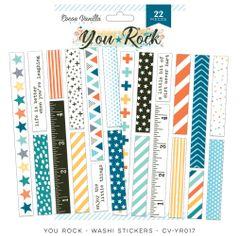 Cocoa Vanilla Studio YOU ROCK Washi Stickers