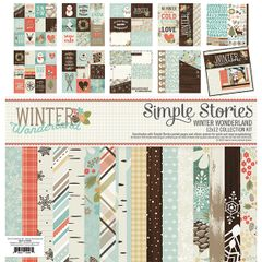 Simple Stories Winter Wonderland 12 x 12 Collection Kit