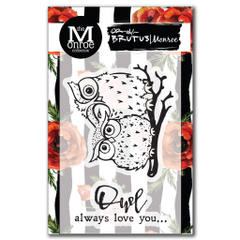 Brutus Monroe OWL Love You Stamp