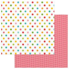 Photo Play Paper - Summer Bucket List 12 x 12 Double Sided Paper - Beach Balls