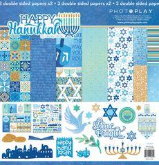 PhotoPlay Happy Hanukkah 12 x 12 Collection Kit