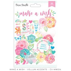Cocoa Vanilla Make A Wish Vellum Accents