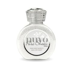 Nuvo Pure Sheen Glitter 721N Ice White