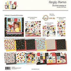Simple Stories Say Cheese 4 12 x 12 Collector's Essential Kit