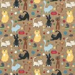 Roxie & Friends Meow Mix 12 x 12 Card Stock