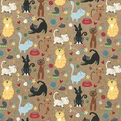 Roxie & Friends Meow Mix 12 x 12 Card Stock