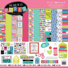 PRE ORDER PhotoPlay You Had Me At Paper 4 pc Happy Scrappy Bag