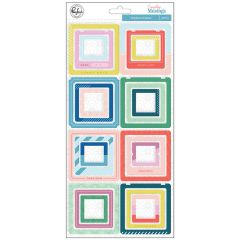 Pinkfresh Studio Everyday Musings Collection Chipboard Sticker Frames