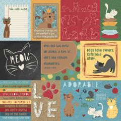 Roxie & Friends The Cat's Meow 12 x 12 Cardstock