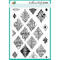 Catherine Pooler Say it in diamonds Stamp Set