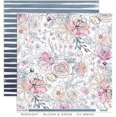 "PRE ORDER Cocoa Vanilla Studio Midnight ""Bloom & Grow"" Paper"