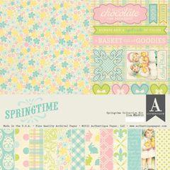 Authentique Springtime 12 x 12 Collection Kit