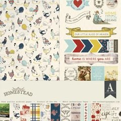 Authentique Homestead 12 x 12 Collection Kit