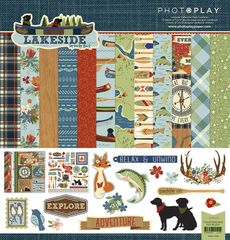 Photo Play Paper Lakeside Collection 12 x 12 Collection Pack