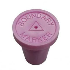 "Pink Boundary Marker Pack of 20 1/2"" RingGuard Caps"