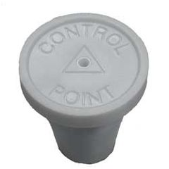 "White Control Point Pack of 20 1/2"" RingGuard Caps"