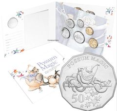 2018 Baby Set Possum Magic Uncirculated Coin Collection