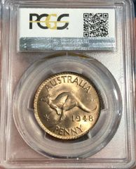 1948 Penny PCGS Graded MS63RB