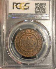 1927 Penny PCGS Graded MS64RB