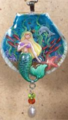 Mermaid Pendant Pattern and Components
