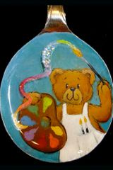 Teddy Bear artist Spoon Pendant Kit