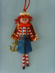 Raggedy Andy Angel pattern, 1 kit and rear view mirror accessory attachment
