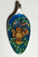 Artist Owl Spoon Pendant Kit
