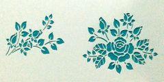 Mini Rose stencil