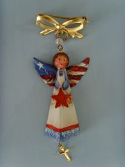 Patriotic Angel pattern, 1 Angel and choice of one Accessory attachment