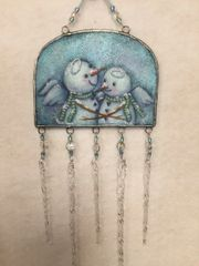 Snow Angels Wind Chime Pattern