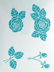 Camellia Stencil