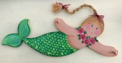 Mia the Mermaid Accessory Holder Components (pattern sold sepretly)