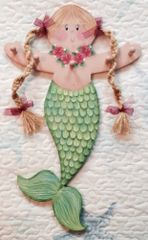 Mia the Mermaid Accessory Holder Pattern