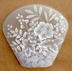 Multi Brush Embroidery 3D Floral Basket Pattern for Fabric and Hard Surfaces