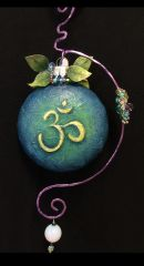 Mixed Media OM Ornament Components (Pattern sold sepretly)