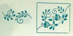 Mini Fuchsia Stencil