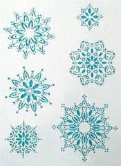 Snowflake Stencil Click to see more options