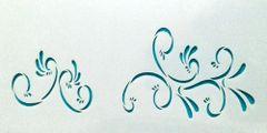 Mini Swirl Stencil