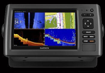 Garmin EchoMap 74sv With 50/200 Transducer