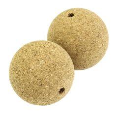 "1-3/4"" Cork Balls (pair)"