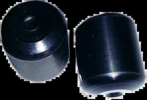 Black Polyethylene Ball Stops