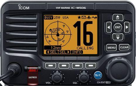 Icom M506 VHF DSC Fixed Mount Radio