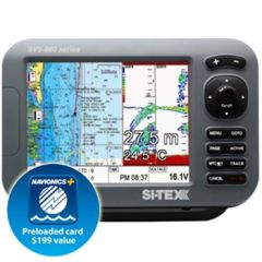 "Si-Tex SVS-880C 8.4"" Chartplotter with Internal Antenna"