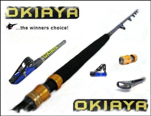 """OKIAYA 30-50LB """"Blueline Series"""" Roller Rod"""