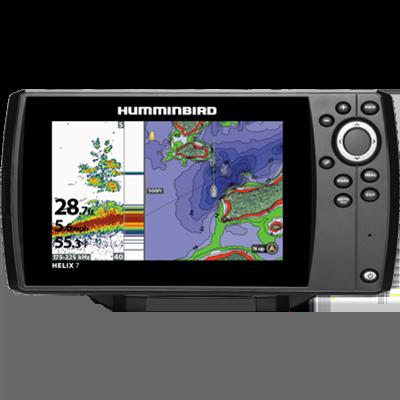 Helix 7 CHIRP G2 GPS/Chartplotter/FishFinder w/ Xdcr