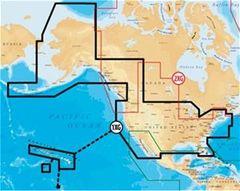 Navionics Hawaiian Islands and Entire USA Chart Cards